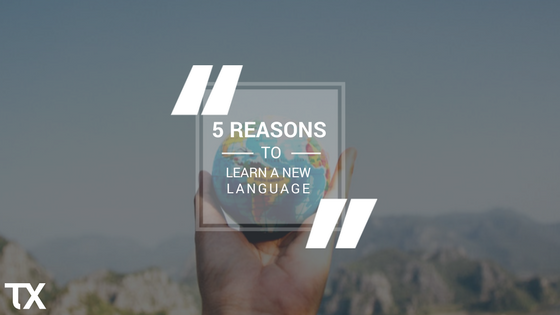 reason to learn a new language