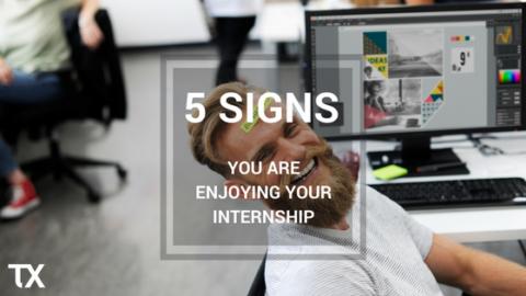 happy internship